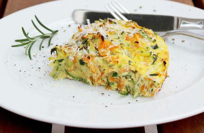 Fitness-Rezept: Zucchini-Fritatta