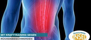 Mit Krafttraining gegen Rückenerkrankungen –<br> Warum Muskelaufbau Beschwerden vorbeugt